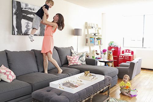 A Play Chic Manhattan Apartment Living Room Playroom Baby