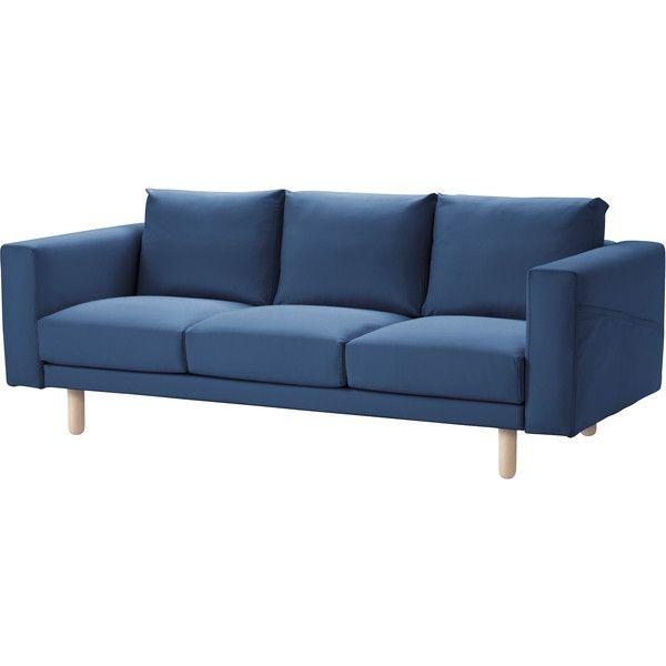 NORSBORG (2.73 AUD) via Polyvore featuring ikea and sofa