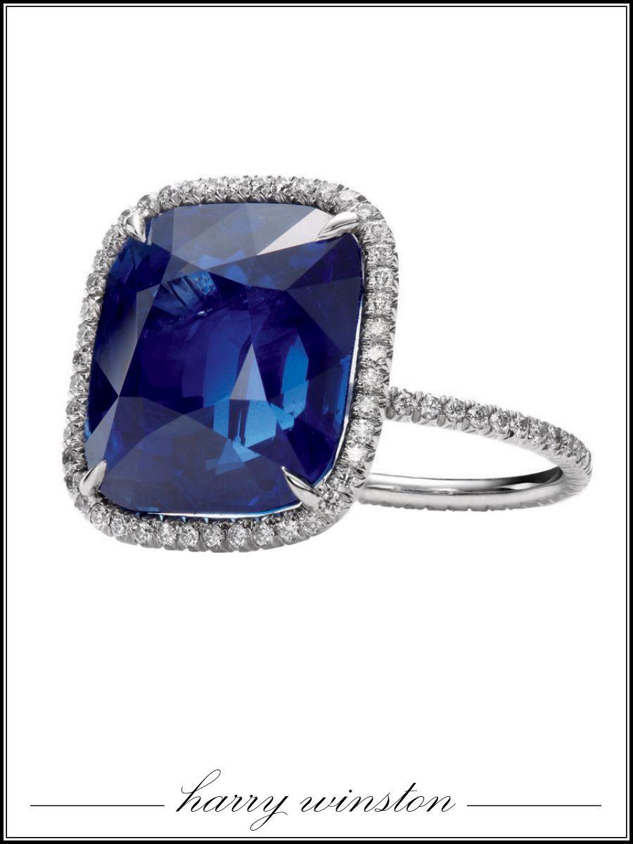 harry winston wedding rings Harry Winston sapphire and diamond micropave ring price upon requestharrywinston com