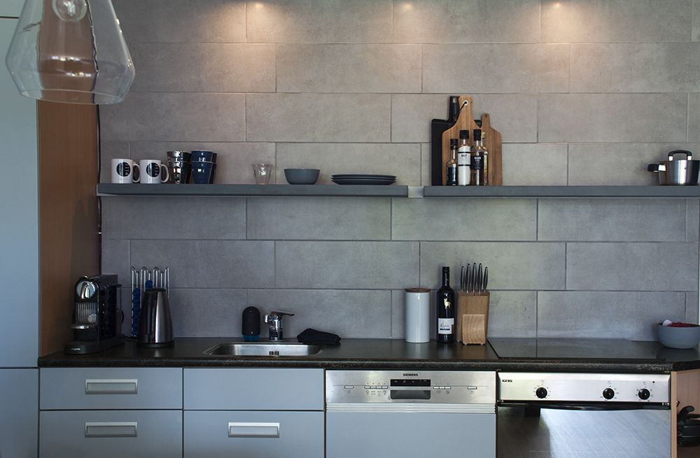Keukenproject: ik heb mijn frontjes geschilderd in #flexa beton 2004 ...