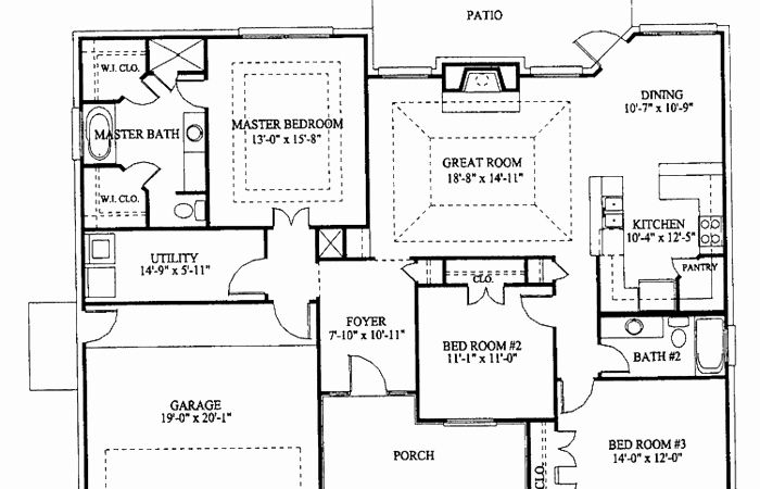 20 X 40 Floor Plans Awesome 30 X 40 Floor Plans Elegant 2 Bedroom 2 Bath Barndominium Hidup