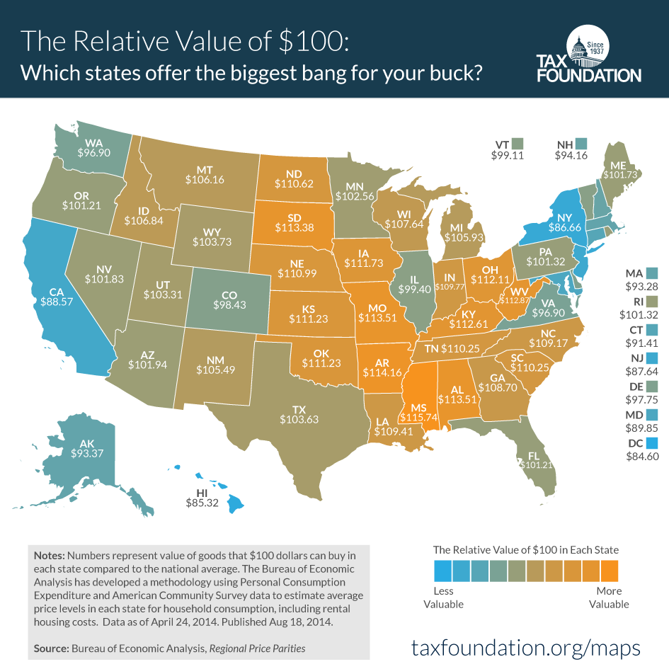 Best Metropolitan Statistical Area Ideas On Pinterest - Map of us states by cost of living