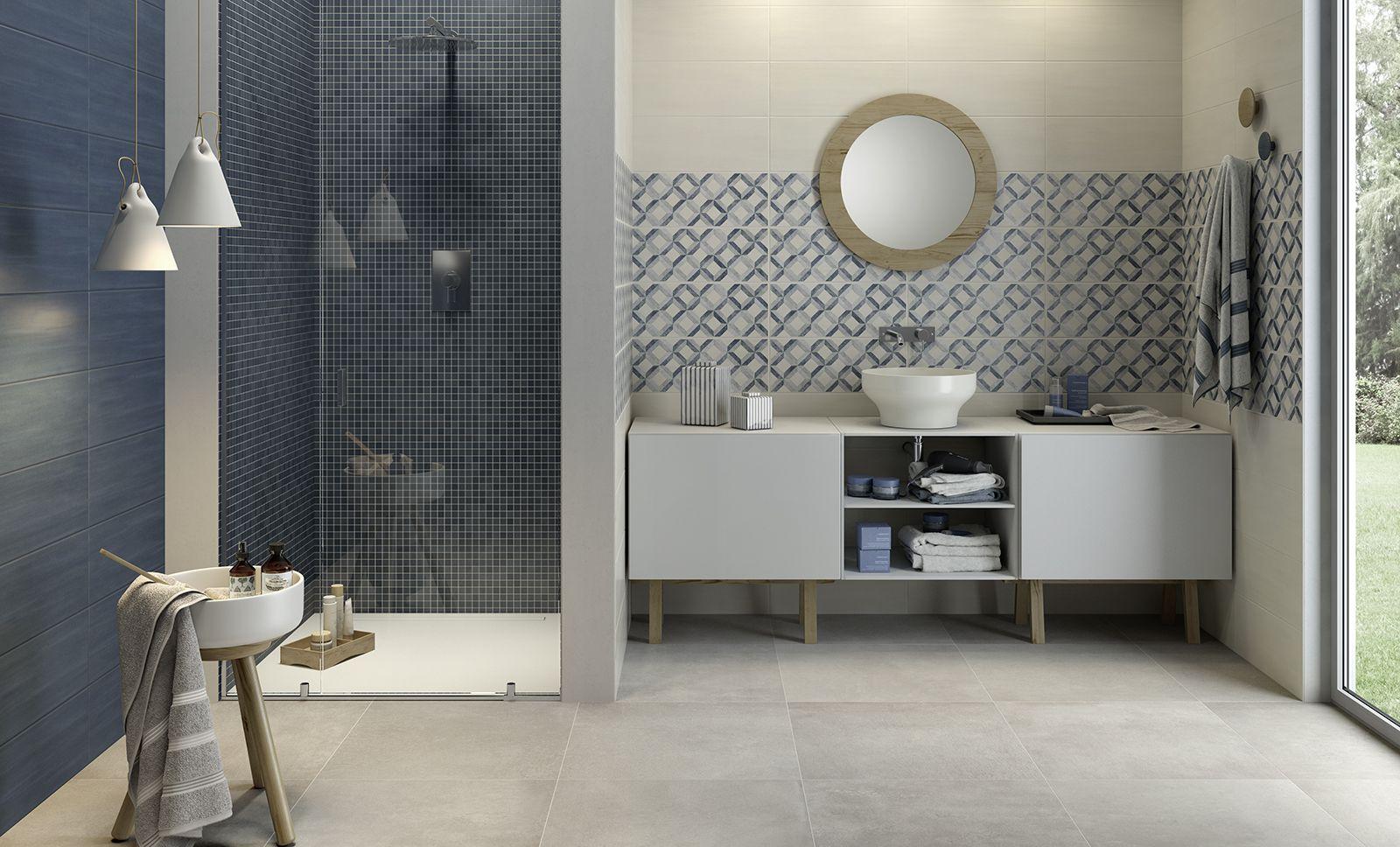 Azulejos cuarto de baño: cerámica y porcelánico | Marazzi | Baños ...