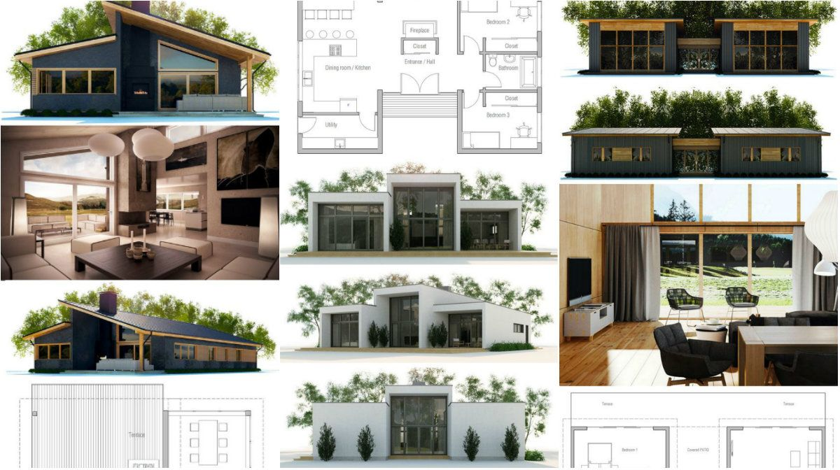 House Plans Details for a Modest Homes with a Lot of Commodity – Architecture Admirers