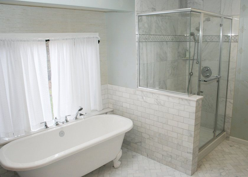 A&E - Bathroom Remodel - Shower Installation - Princeton ...