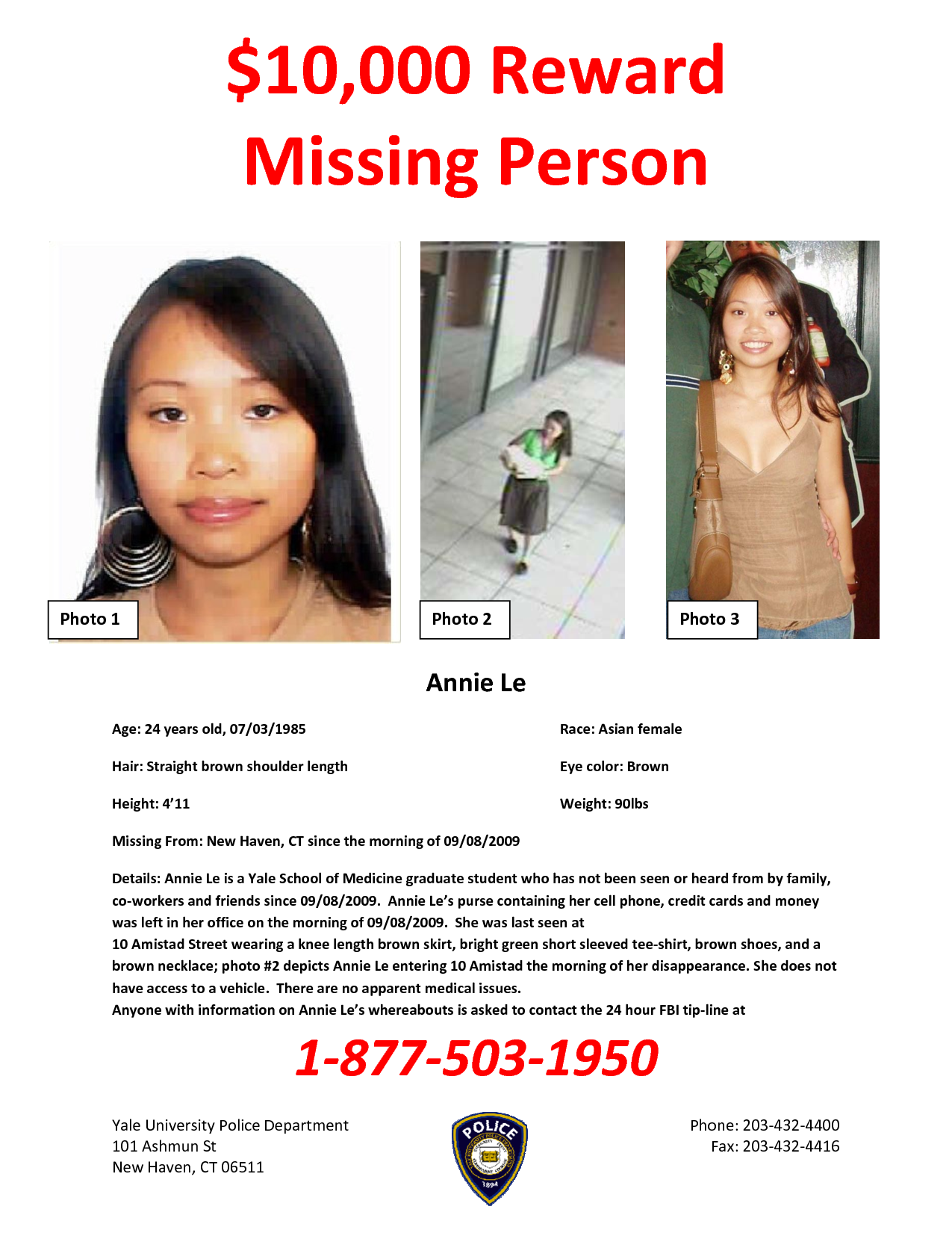 Recent missing persons | 10000 Reward Missing Person ...