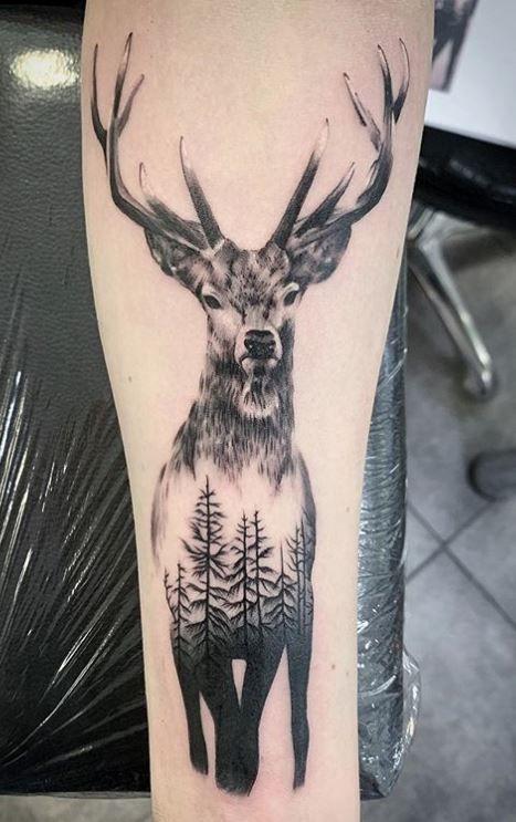 15 Deer Tattoos You Must See