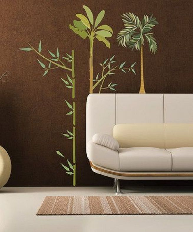 Best Images About Palm Trees Decor Pinterest Fiji Wooden Ideas Tree Murals Wall Painting