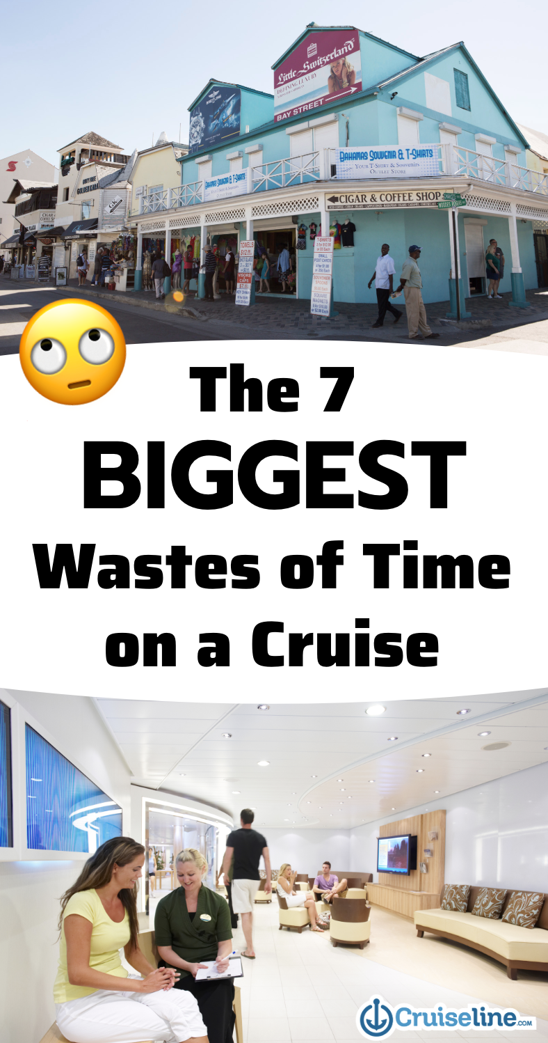 The 7 Biggest Wastes of Time on a Cruise