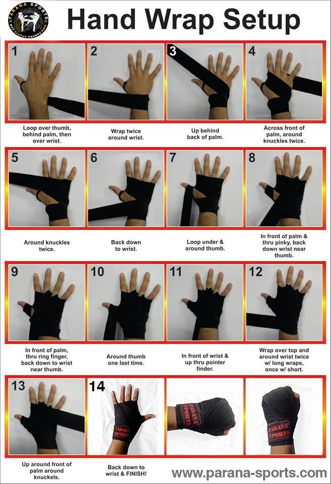 Hand Wrap Setup Easy Way To Wrap Your Hand And Get Ready For The Training Parana Sports To Enhance Your Pe Kickboxing Workout Karate Training Martial Arts