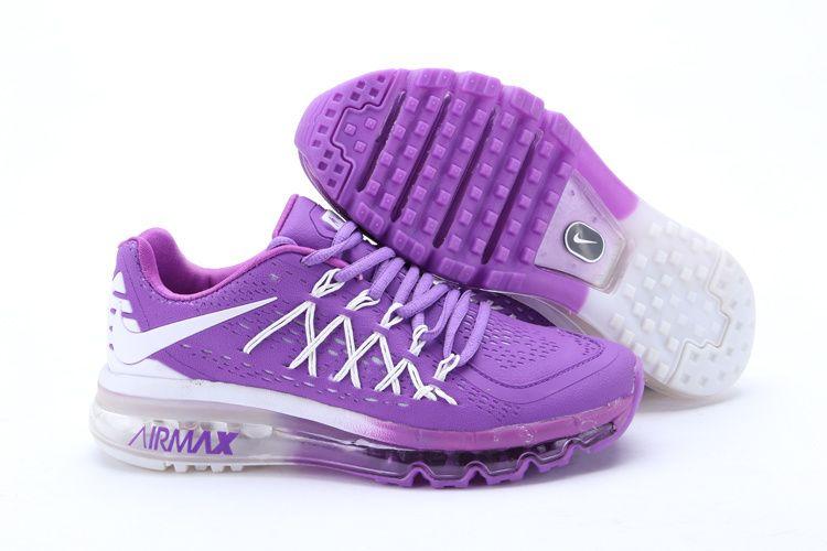 Nike Air Max Shoes Womens PurpleWhite New Style