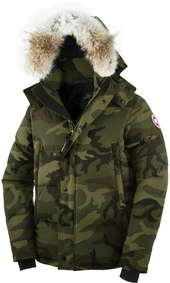 canada goose wyndham down parka men s products parka fashion rh pinterest com