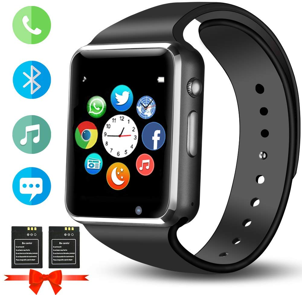 Smart Watch, ANCwear Bluetooth Sports Watches with Amazon