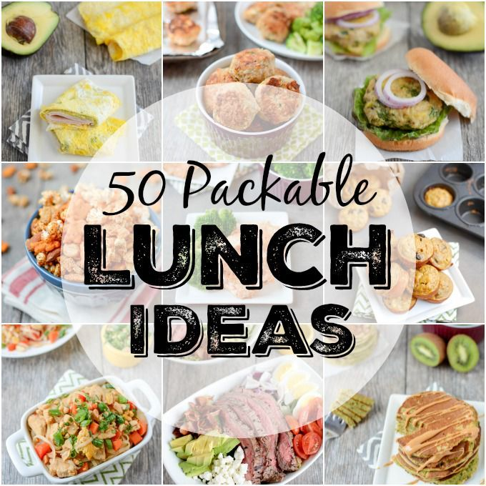 50 packable lunch ideas | lunch ideas for work | the lean green bean images