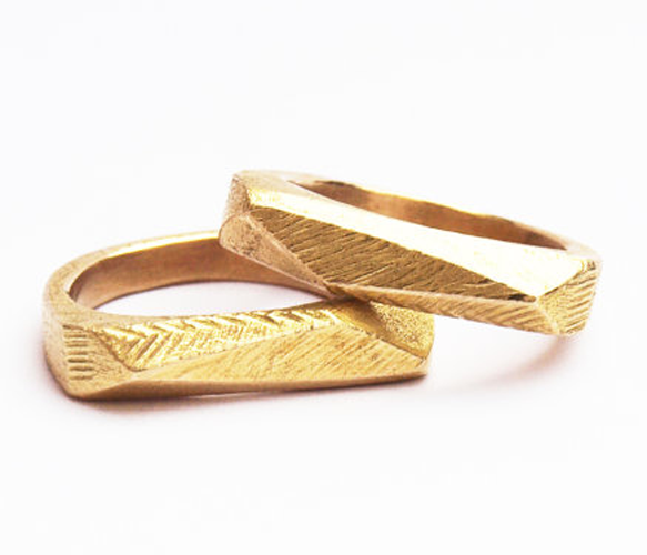 Faceted Ring // Kerrie Yeung