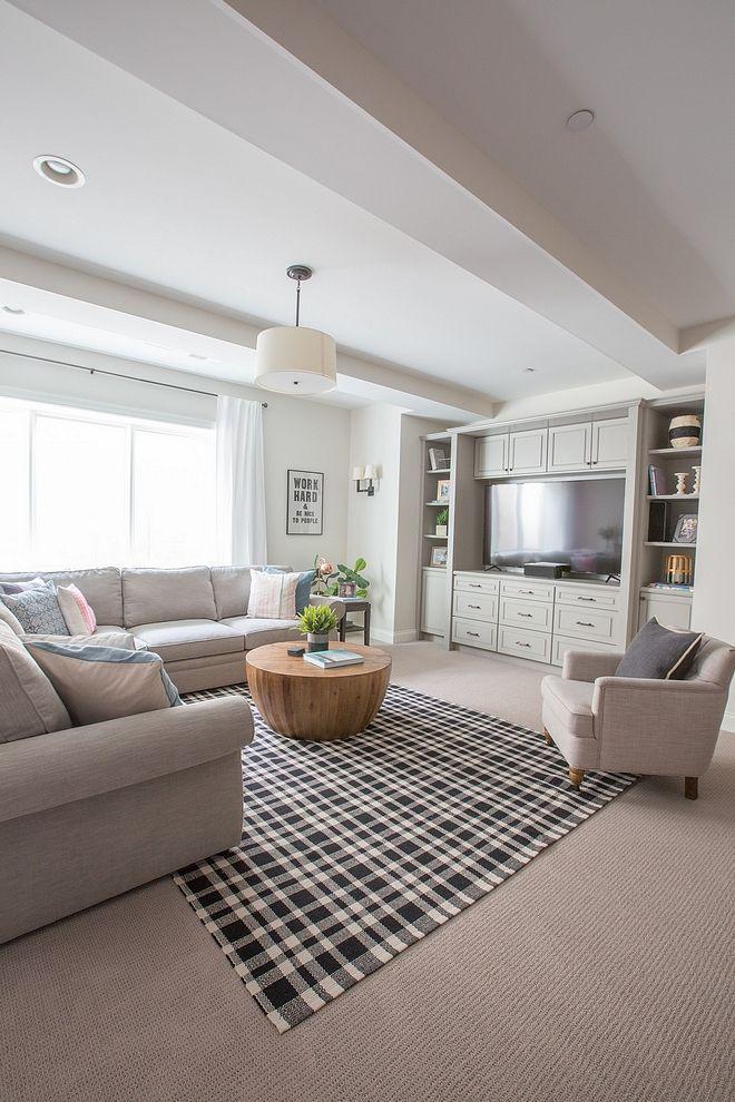 Best Paint Benjamin Moore Classic Gray Home Basement Living 400 x 300