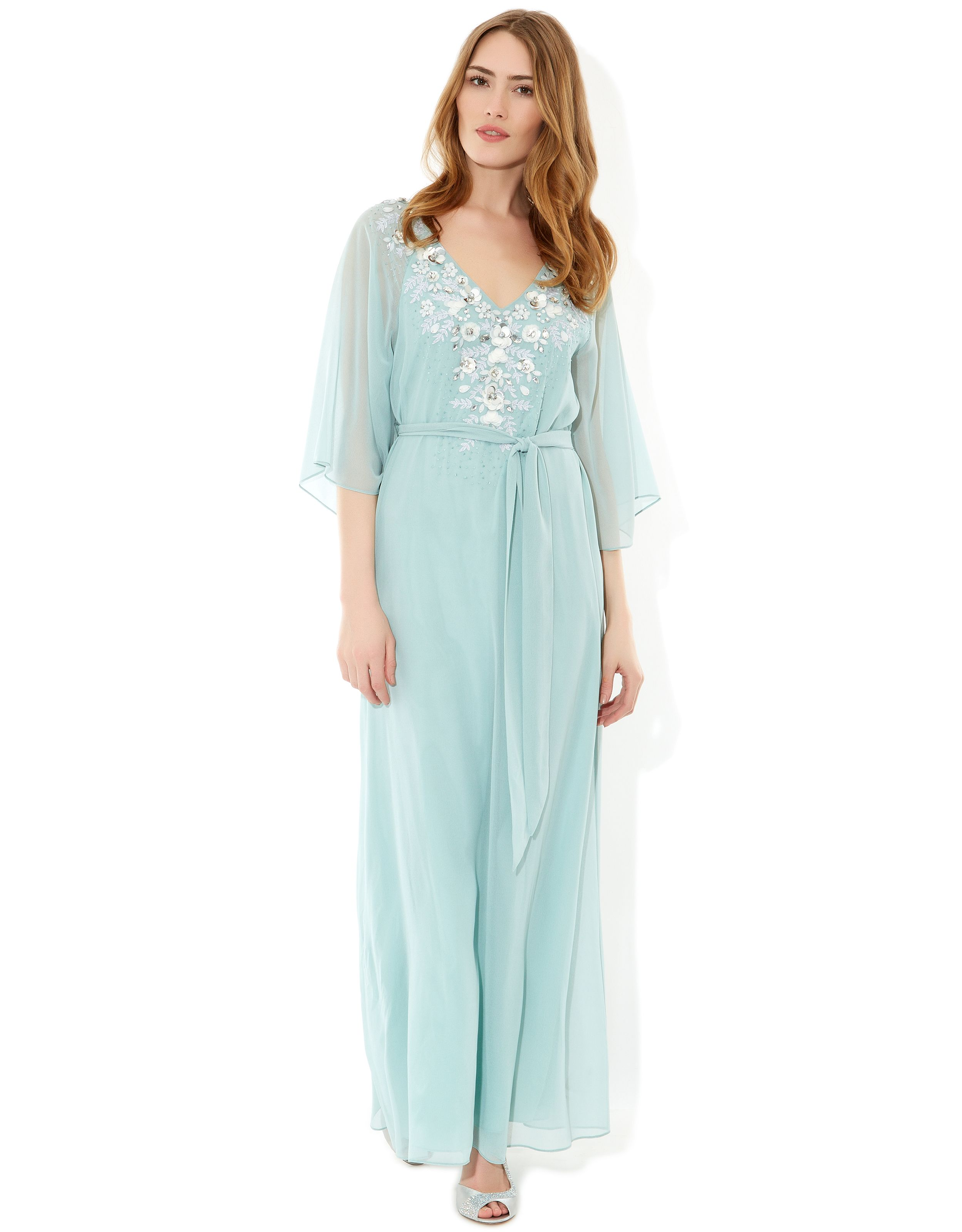 Svetlana Kaftan Dress | Blue | Monsoon | UK Wedding | Pinterest ...