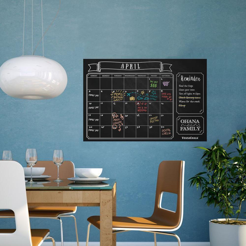 Chalkboard wall calendar chalkboard wall calendars dorm