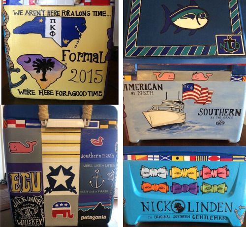 Cooler Painting Ideas For Guys Google Search Formal Cooler Ideas Cooler Painting Frat Coolers