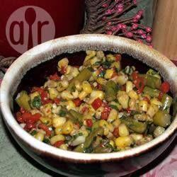 Salade d'été au maïs frais et aux asperges @ qc.allrecipes.ca