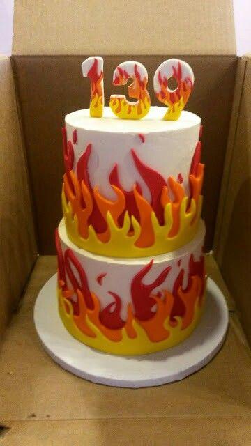 29+ Flame cakes ideas