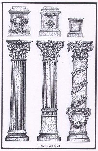 Greco Roman Columns Pillars Of Wisdom Pinterest