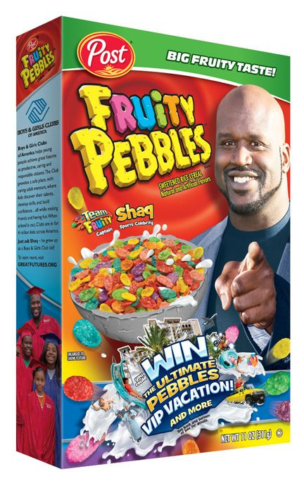 Professional basketball legend Shaquille O Neal gears up to lead Team Fruity  to victory! 19ca6976df