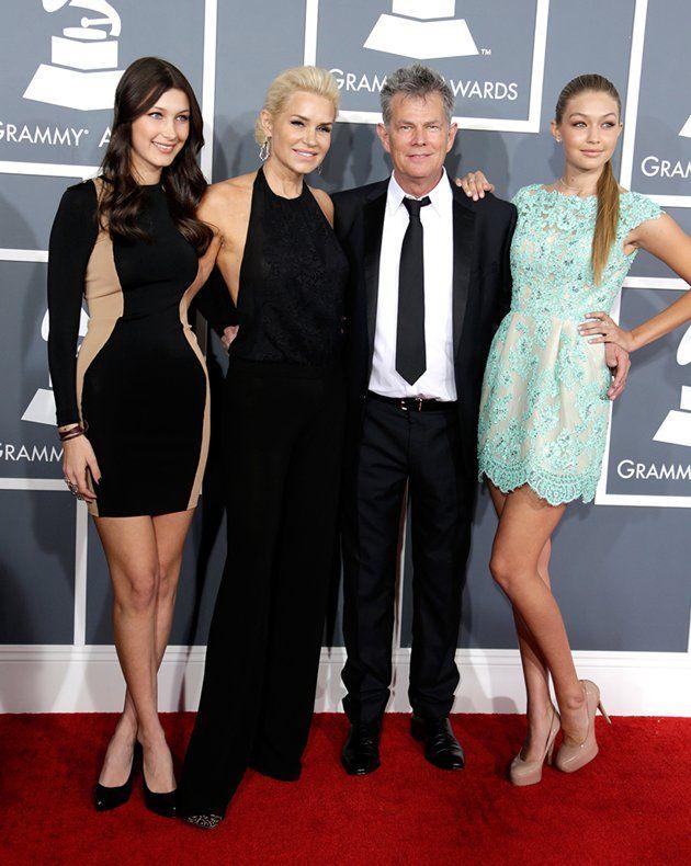 Gigi Foster The Daughter Of Yolanda Foster In Sherri Hill Far Right Gigi Dress Yolanda Hadid Hadid Style