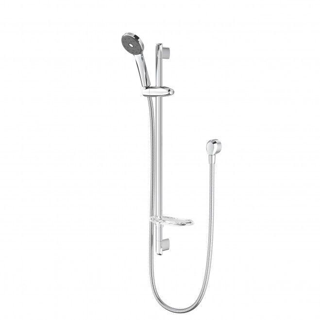 Futura Satinjet Fu Slide Rail Shower Shower Water Efficiency