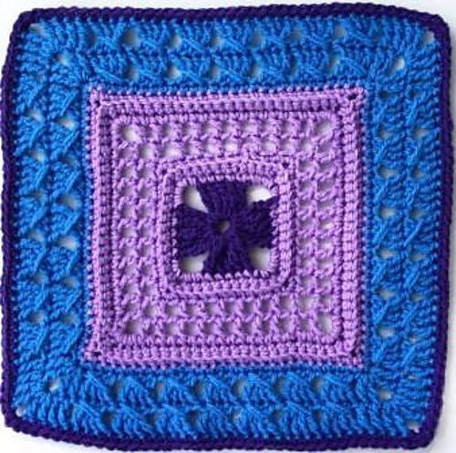 """Ravelry: Lady's Lace - 12"""" Square pattern by Melinda Miller"""