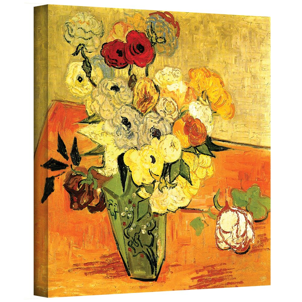 Vincent van Gogh \u0027Japanese Vase with Roses and Anemones