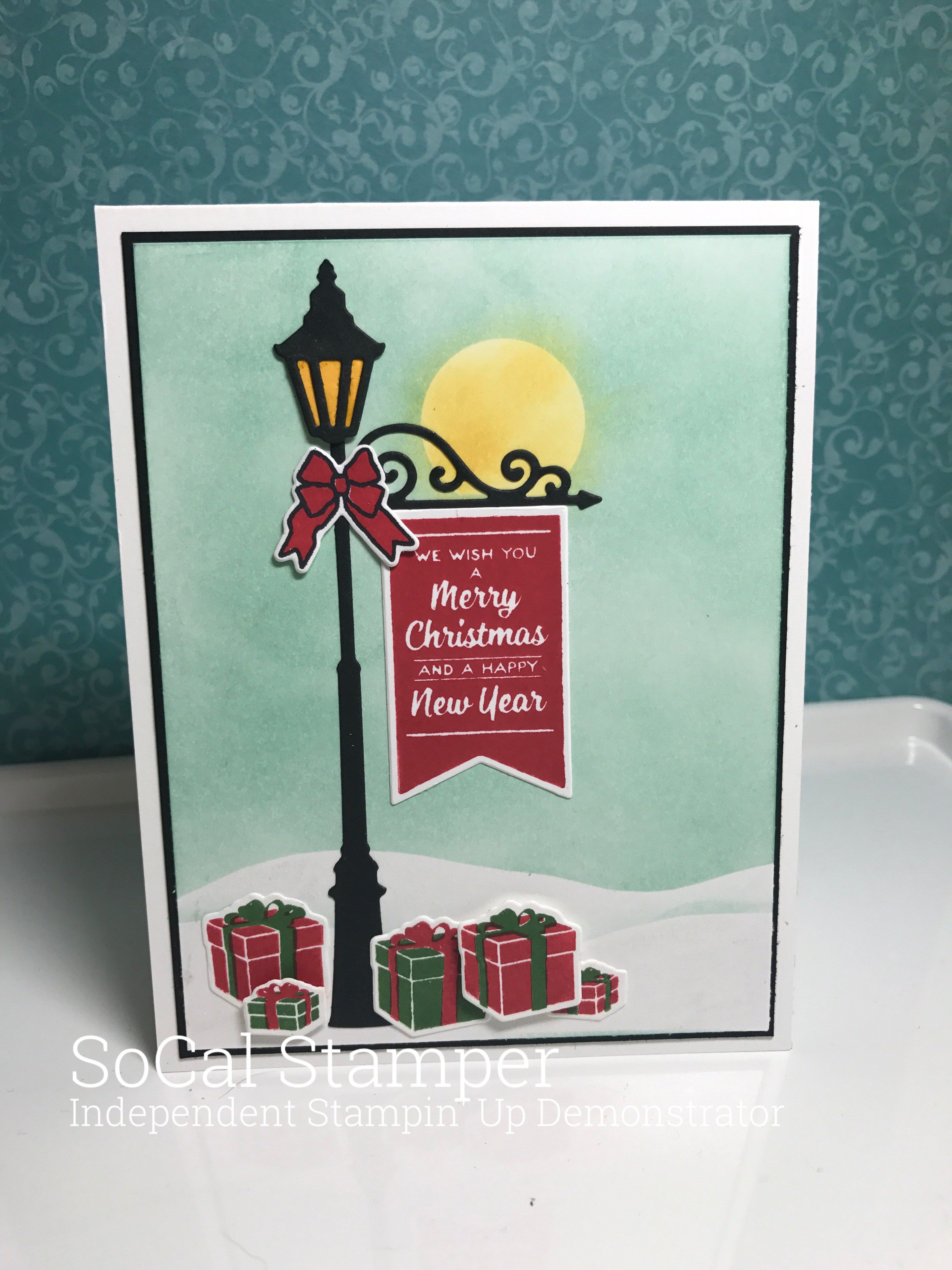 Brightly Lit Christmas Stampin Up Stamp Set