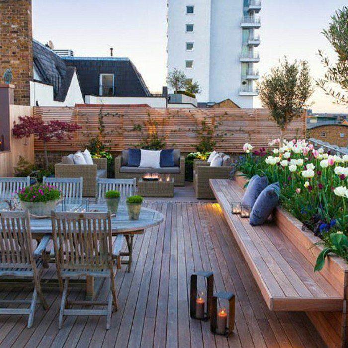 Aménager une terrasse - plus de 50 idée pour vous! | Terassen