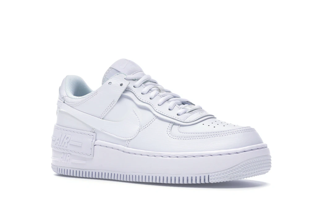 Nike Air Force 1 Shadow Triple White W Hype Shoes Dream Shoes Hot Sneakers