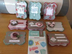 CTMH Christmas gift card holders