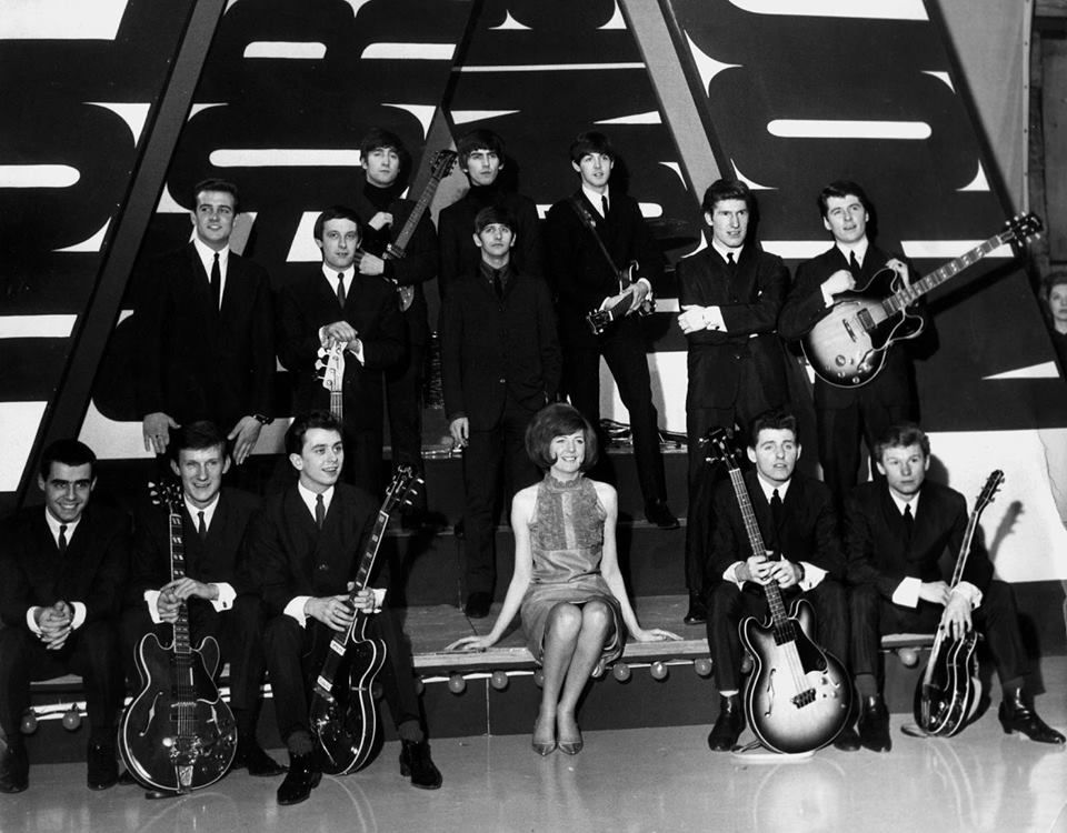 SWINGING 60S: Cilla Black (1943-2015) alongside other famous acts including the Beatles filming for ABC's Thank Your Lucky Stars. https://www.youtube.com/watch?v=W1llEklzTeI&safe=active