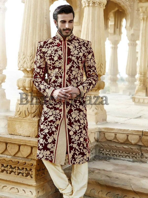 a3d13557e8 designer-sherwani-collection-pakistan-groom-sherwani | Sherwani ...
