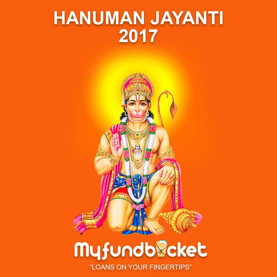 May god Hanuman bless with power and wisdom Visit: https://www.myfundbucket.com/contact-us Toll free - 1800 1200 288 #Festival #Financialse