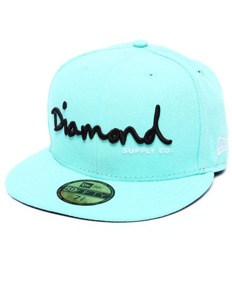 959b837b171 Diamond Supply Co - Diamond Supply Co OG Script New Era Fitted Cap ...