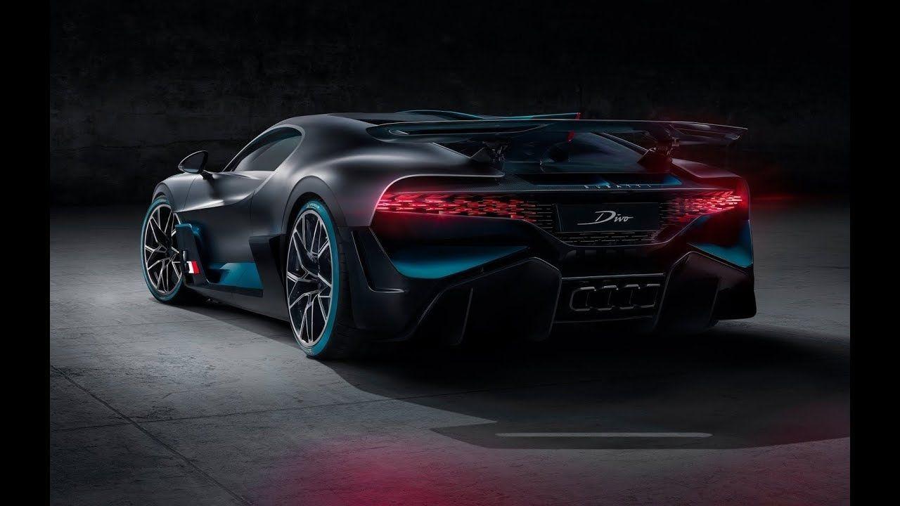2019 Bugatti Divo Chiron Sport Limited Hypercar Luxurious Interior