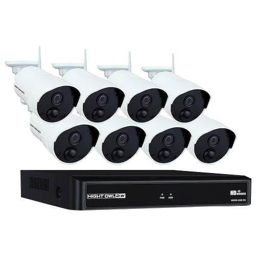 Night Owl 8Channel, 8Camera Indoor/Outdoor Wireless