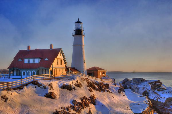 Superb Portland Head Light New England Lighthouse Cape Download Free Architecture Designs Scobabritishbridgeorg