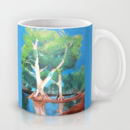 Add a little nature to your day with this mug