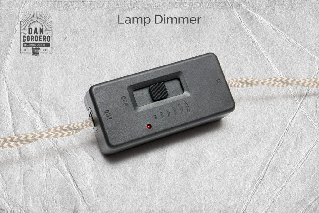Dewenwils Table Lamp Dimmer Switch Dimmable Led Cfl Lights Incandescent And Halogen Bulbs Full Range Slide Cont Lamp Dimmer Switch Dimmable Led Dimmer Switch