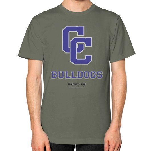 Clarke County High School T-Shirt (on man)