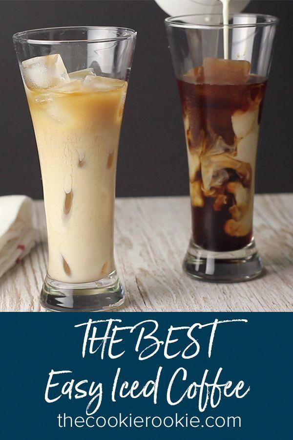 Wie man den BESTEN Easy Iced Coffee von The Cookie Rookie ...