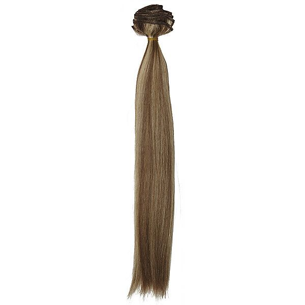 Clip In Dark Blonde Frost 14 Inch Human Hair Extensions Human Hair