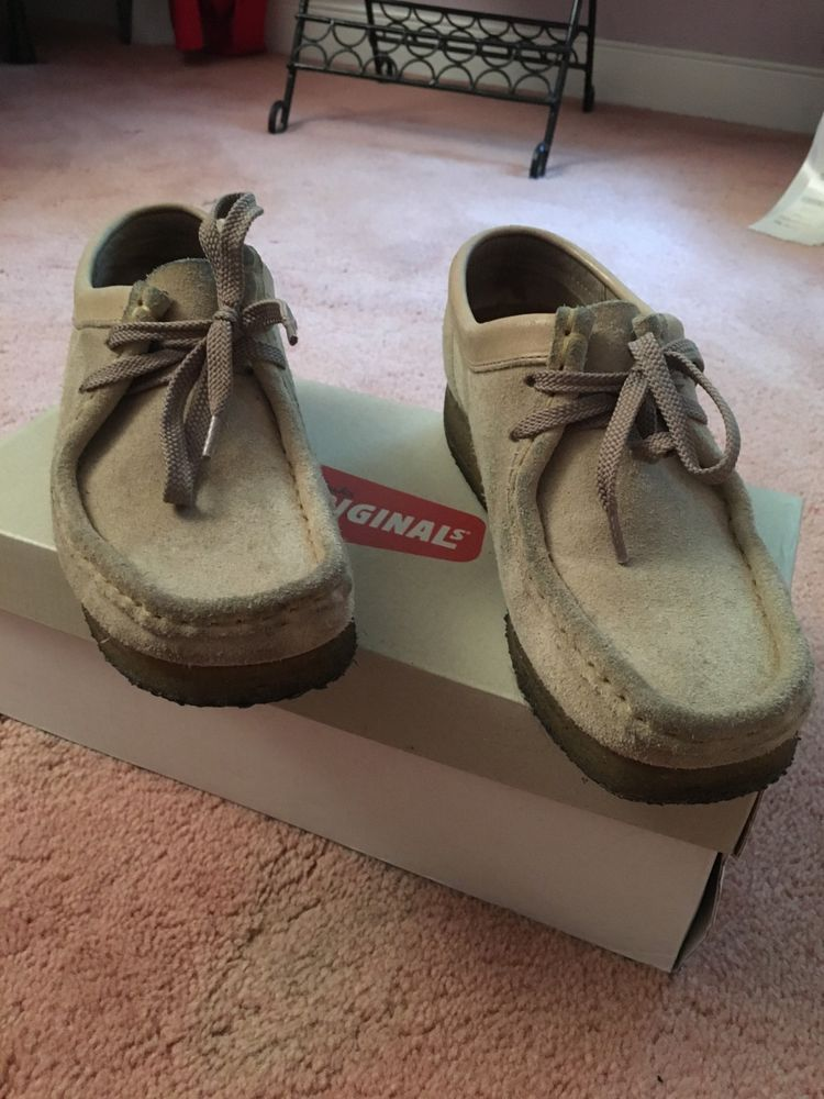 84266f8595f Womens Original Clarks Wallabees Low Shoes Oxfords Size 10 EUC #fashion # clothing #shoes #accessories #womensshoes #comfortshoes (ebay link)