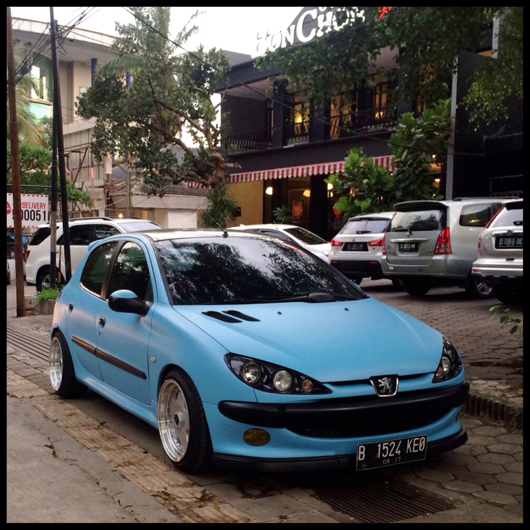 scirocco peugeot 206 black - Αναζήτηση google | cars | pinterest