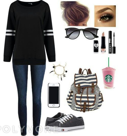 cb10d4da91 Day of University (polyvore on we heart it) | Personal Style ...